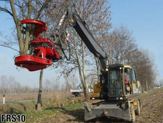 Excavator Tree Shears 2