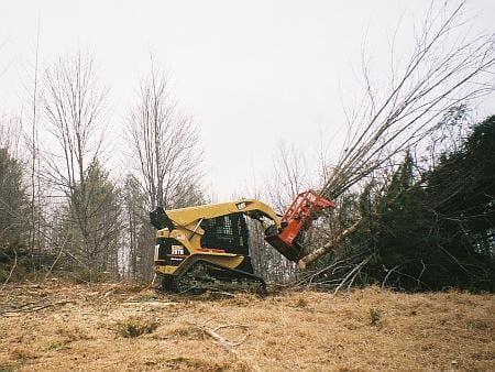 Tree Shears Skid Steer 1