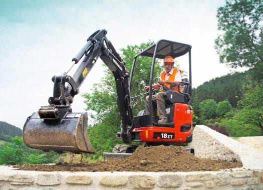 Eurocomach ES18ZT Mini Excavator