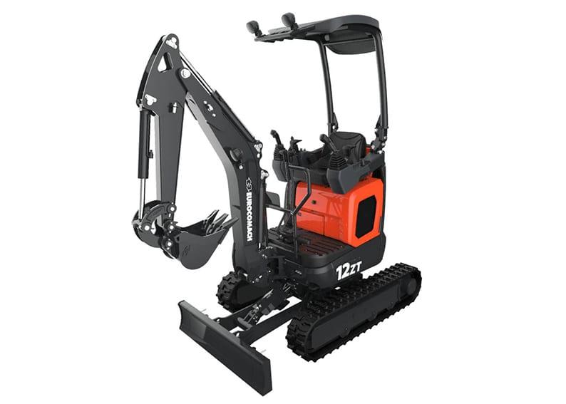 12 ZT Mini Excavator - Web 1