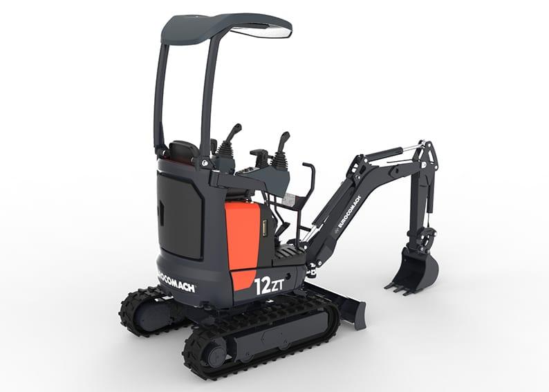 12 ZT Mini Excavator - Web 2