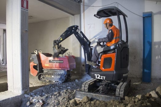 Eurocomach 12ZT Mini Excavator for Sale 2