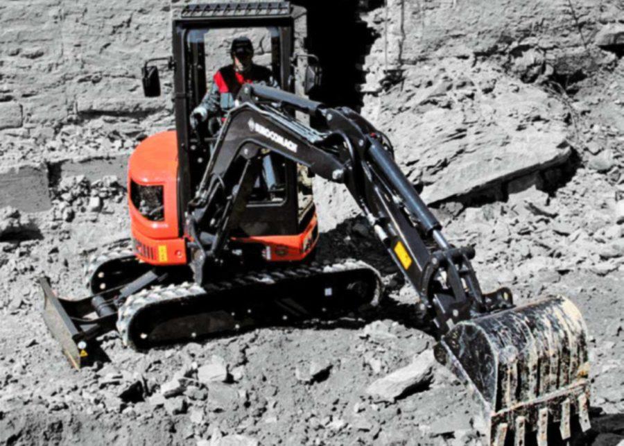 Eurocomach ES35ZT Mini Excavator