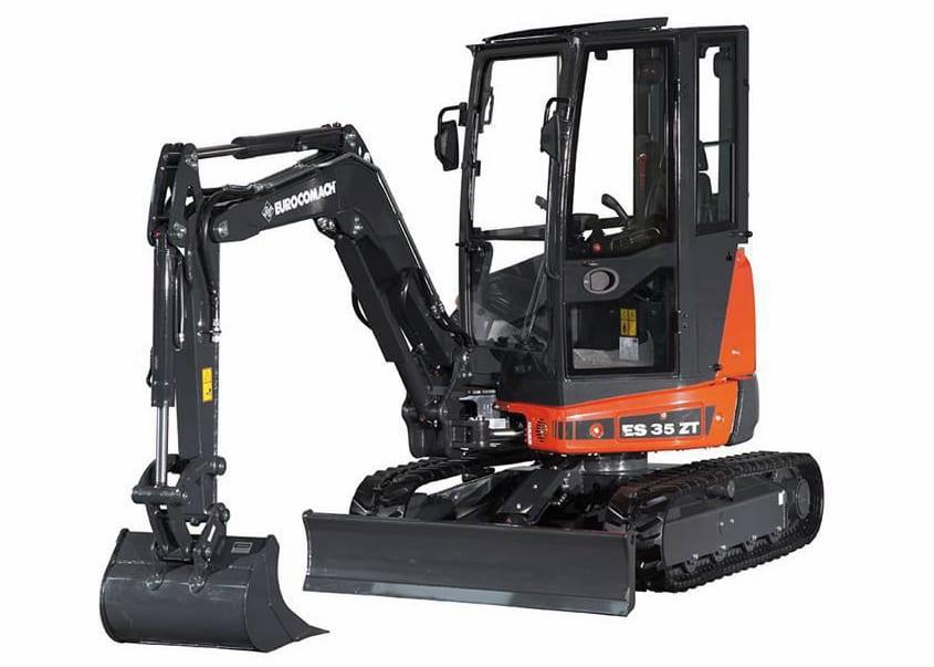 Eurocomach ES35ZT Mini Excavator 2