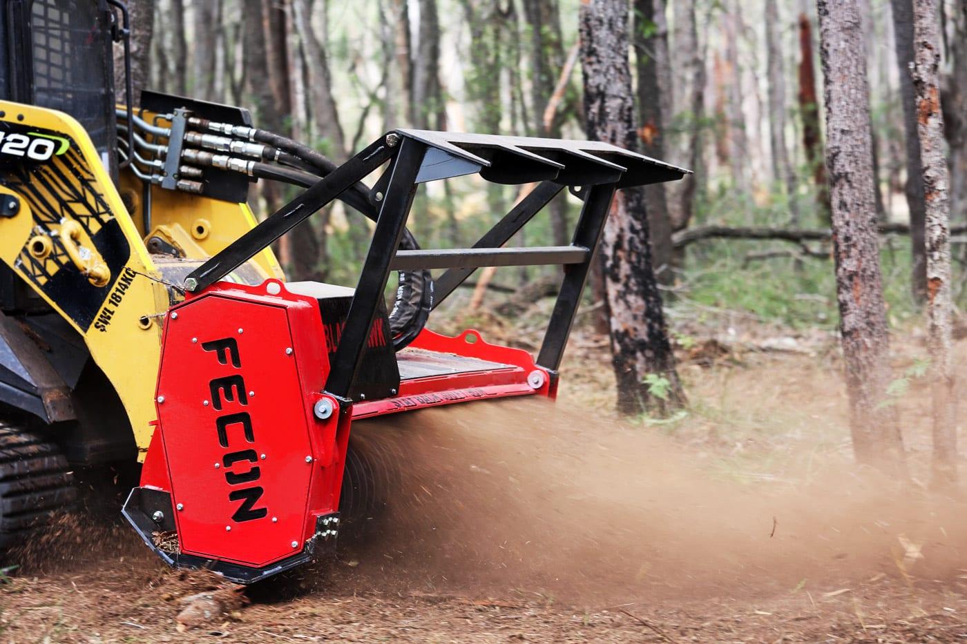 Fecon-Blackhawk-Skid-Steer-Forestry-Mulcher