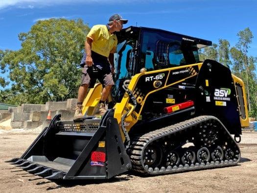 Bonny Hills Garden Centre ASV RT-65 MAX-Series Posi-Track