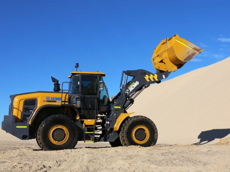 XCMG-XC958-Loader-Hire-10