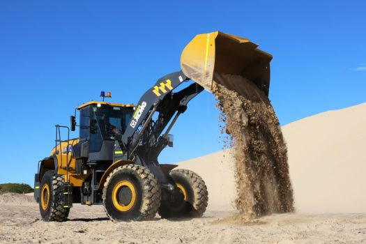 XCMG-XC958-Loader-Hire-11