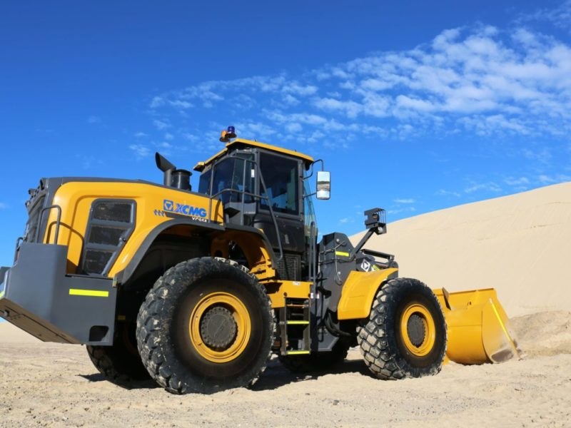 XCMG-XC958-Loader-Hire-13