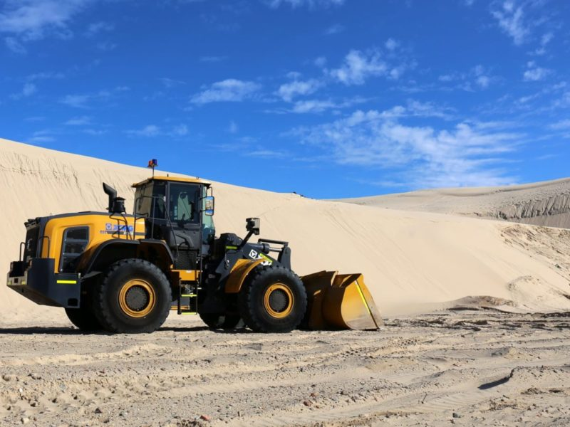 XCMG-XC958-Loader-Hire-4