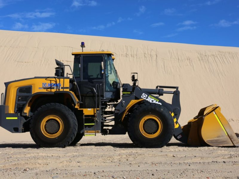 XCMG-XC958-Loader-Hire-7