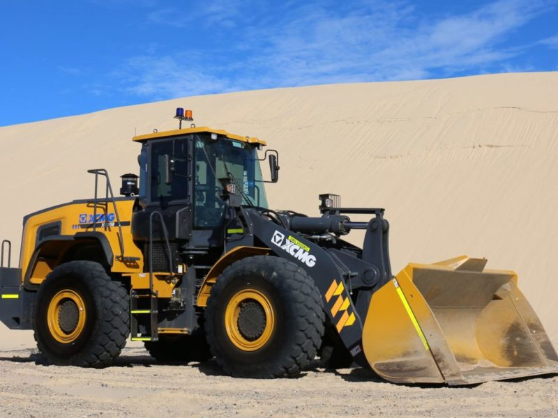 XCMG-XC958-Loader-Hire-8