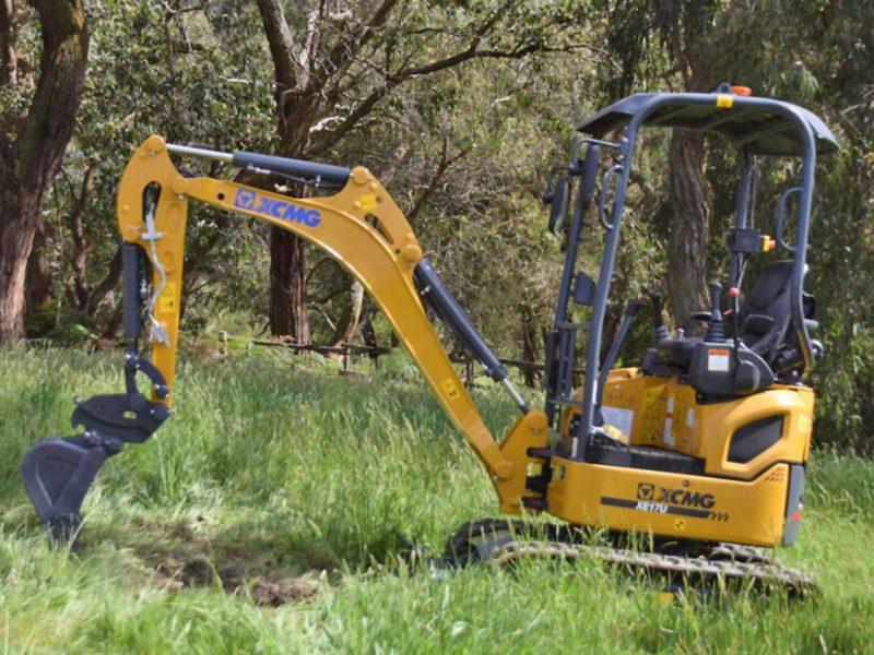 XCMG-XE17U-Mini-Excavator