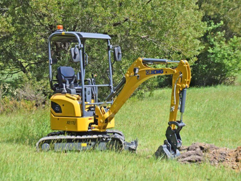 XCMG-XE17U-Mini-Excavator-hire