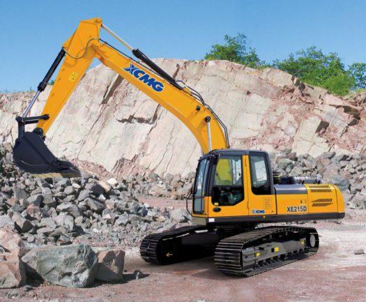 XCMG-XE215D-Excavator-20tonne-hire