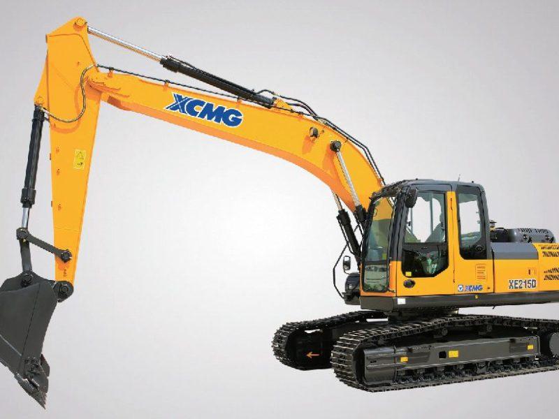 XCMG-XE215D-Excavator-Rental