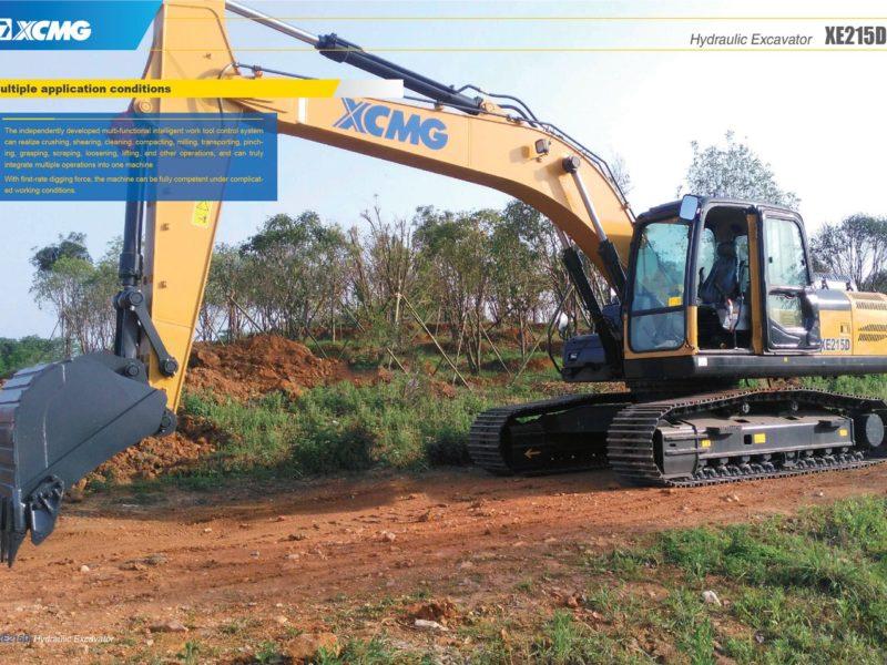 XCMG-XE215D-Excavator-Hire