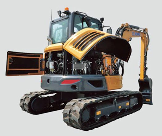 XE55U-Mini-Excavator-ServiceAccess